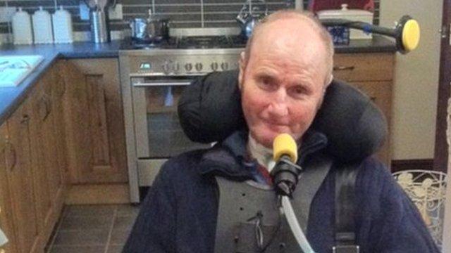 "Bryan ""Yogi"" Davies at home in Bala, Gwynedd"