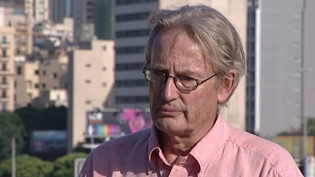 The BBC's Jim Muir