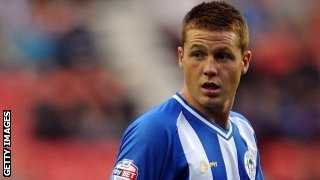 Wigan midfielder James McCarthy