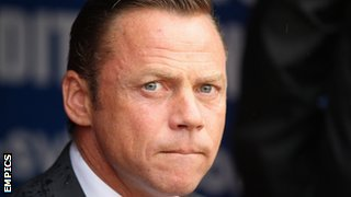 Doncaster manager Paul Dickov