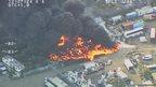 Metropolitan Police photo of Gravesend fire