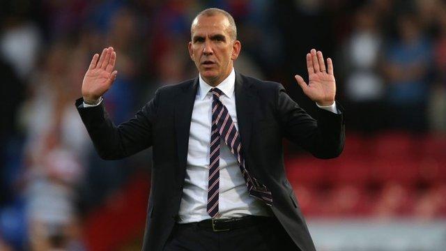 Sunderland boss Paulo Di Canio