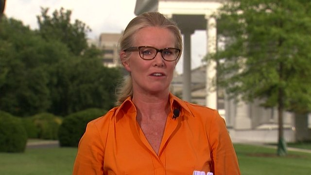 Katty Kay in Washington