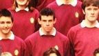 Gareth Bale at school