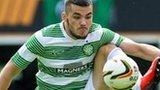 Celtic striker Tony Watt