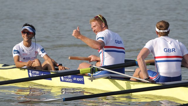 Men's eights finally win rowing gold