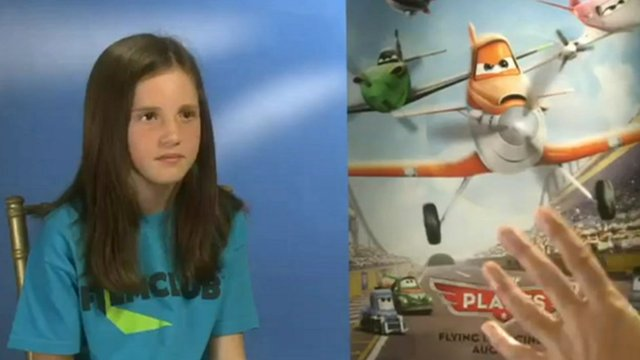 Alicia meet the cast of Planes