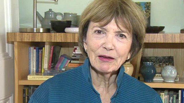 Broadcaster Joan Bakewell