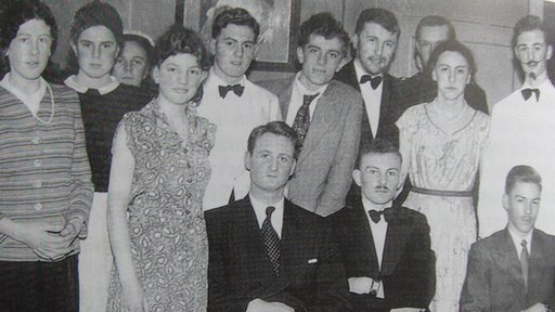 Wellingborough Grammar school production of 'Alibi' in 1956 starring David Frost and Jim Wilson