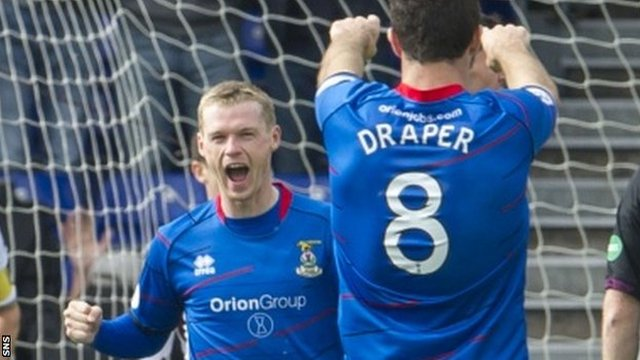 Highlights - Inverness CT v Hearts
