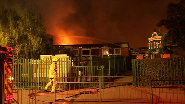 John Ray Infants School fire