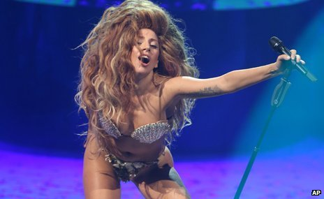 Lady Gaga at the iTunes festival