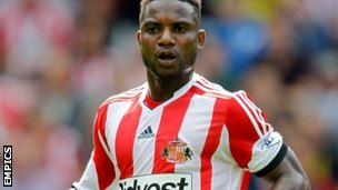 Sunderland striker Stephane Sessegnon