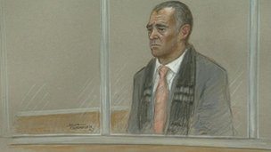 Michael Le Vell in court
