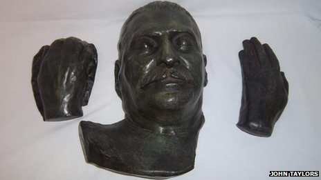 Joseph Stalin death mask