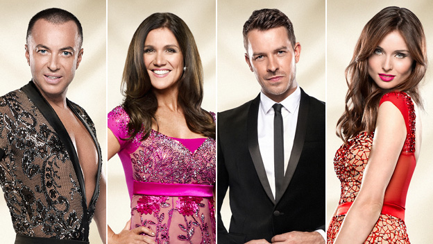 Julien Macdonald, Susanna Reid, Ashley Taylor Dawson and Sophie Ellis-Bextor