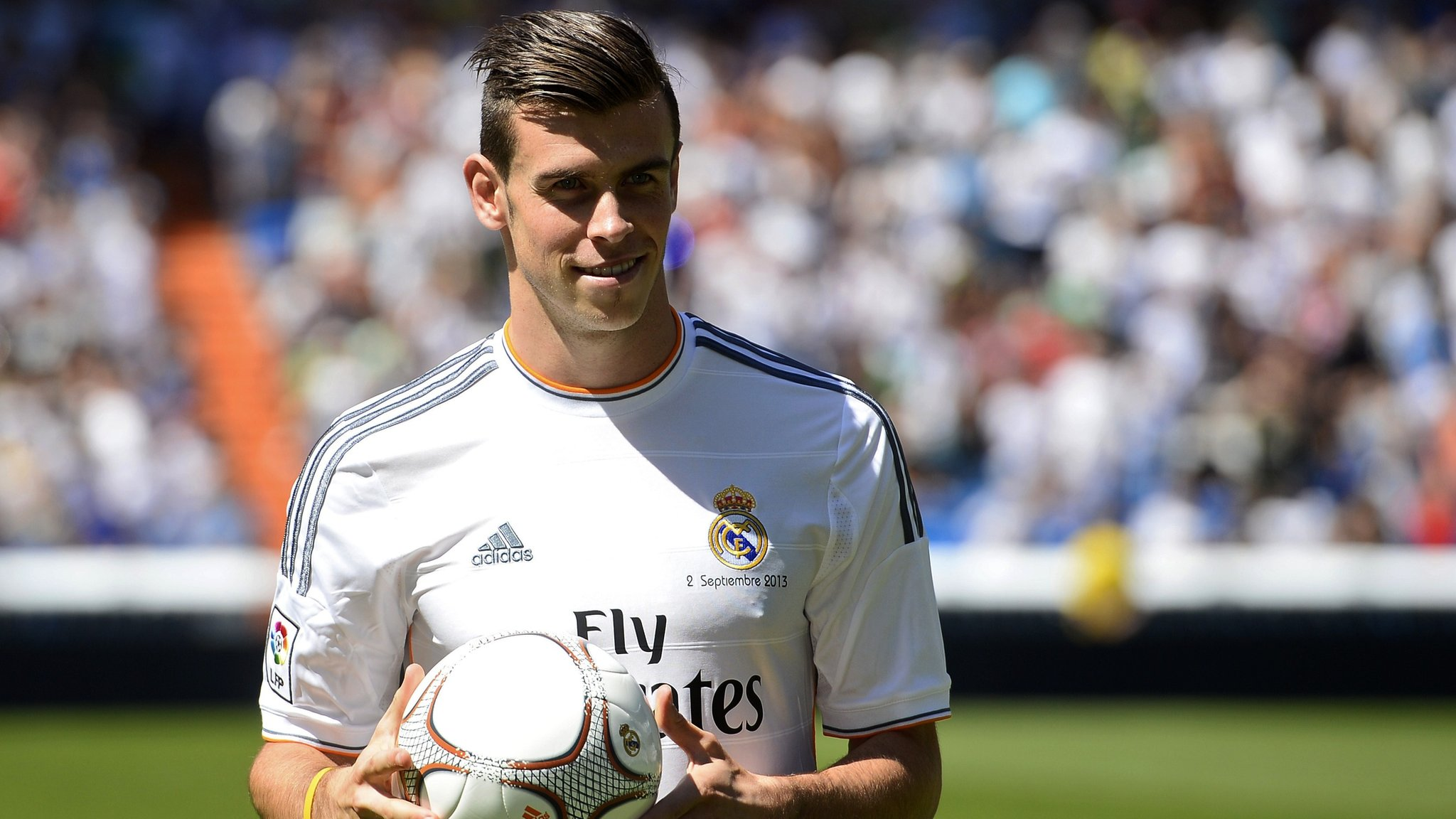 8f0b9c3a2 Gareth Bale signs for Real Madrid in record £85m deal - CBBC Newsround