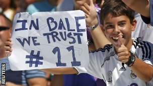 A Real Madrid fan