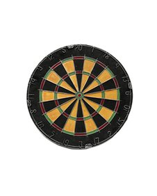 Clive Barker's Painted Dartboard