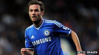 Chelsea's Juan Mata