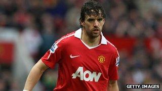 Former Manchester United midfielder Owen Hargreaves