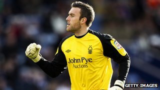 Goalkeeper Lee Camp