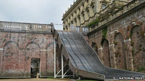 Slide at Cliveden estate