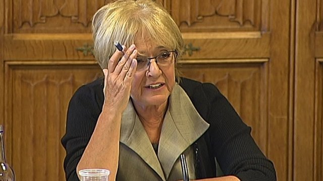 Labour MP and committee chair Margaret Hodge