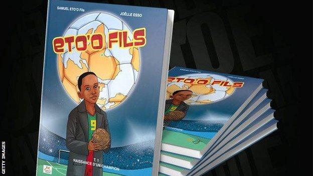 Samuel Eto'o comic