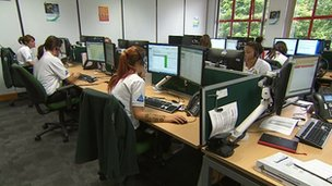 Devon's NHS 111 call centre