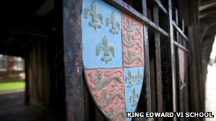 King Edward VI School Logo