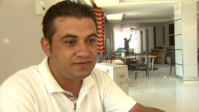 Turkish restaurant owner, Suleiman Goumez