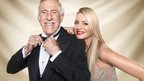 Bruce Forsyth and Tess Daley
