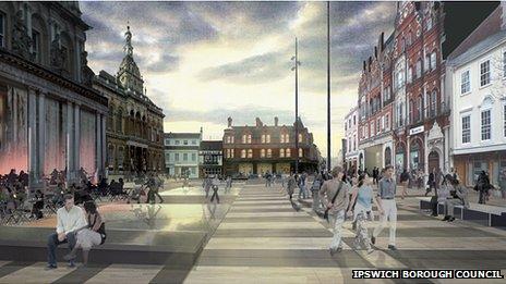 Ipswich Cornhill Concept A