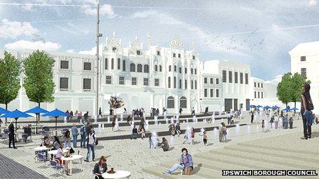 Ipswich Cornhill Concept E