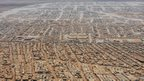 An aerial view shows the Zaatari refugee camp, near the Jordanian city of Mafraq - 18 July 2013 file
