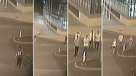 CCTV images of potential witnesses