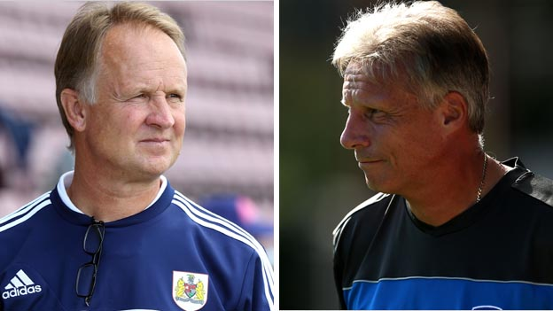 Sean O'Driscoll and John Ward