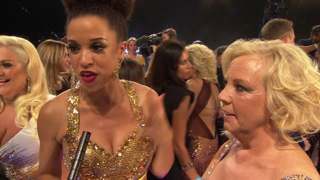 Coronation Street actress Natalie Gumede and Dragon's Den star Deborah Meaden