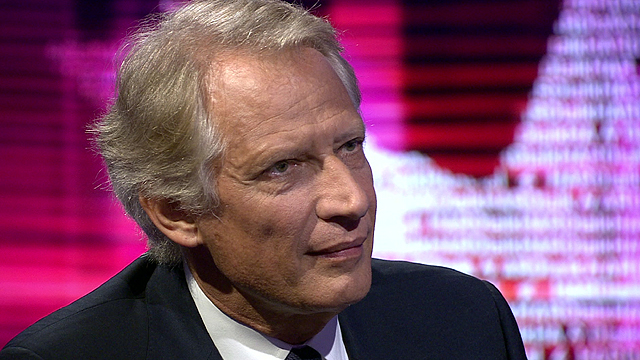 Former French prime minister Dominique de Villepin