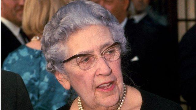 Agatha Christie in 1967