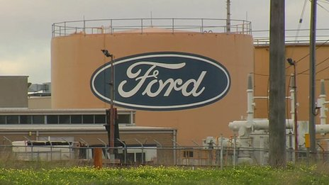 Ford plant in Geelong