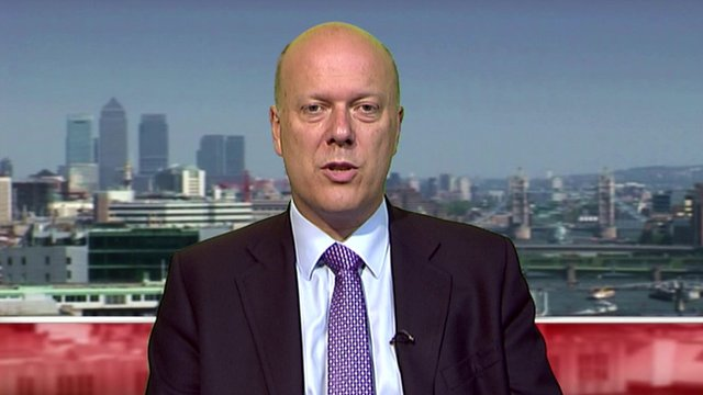 Justice Secretary, Chris Grayling MP