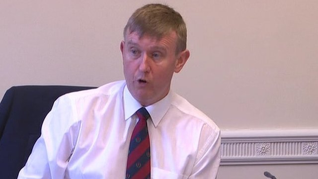 Education Committee chairman Mervyn Storey