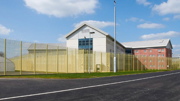 Artist impression of Wrexham super-prison