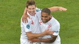 Steven Gerrard and Glen Johnson