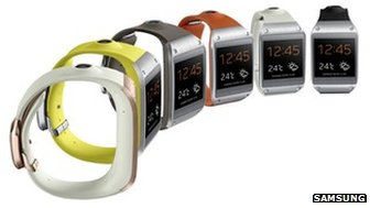 Samsung Introduces GALAXY Gear watch