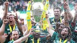 Leicester Tigers celebrate 2012-13 title