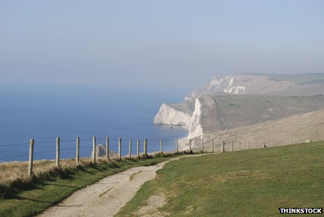 England's south coastal path