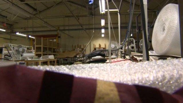 Montgomery Tomlinson factory floor